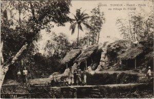 CPA AK VIETNAM Tonkin HANOI - Fours au Village du Papier (60076)