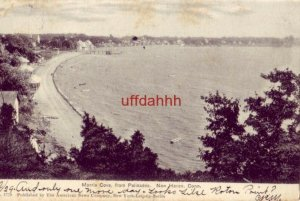 PRE-1907 MORRIS COVE FROM PALISADES NEW HAVEN, CT 1905