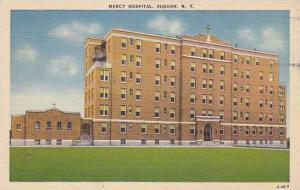 Exterior, Mercy Hospital, Auburn, New York, PU_1941