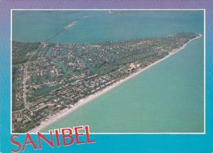 Florida Sanibel Island Aerial View