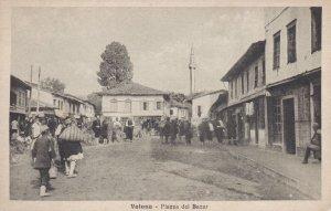 Valona (Vlorë ), Albania, 00-10s Piazza del Bazar