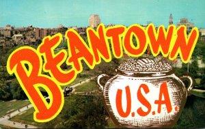 Massachusetts Boston Beantown U S A