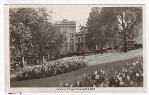 The Octagon Gardens Dunedin Otago 1940s RPPC Real Photo postcard