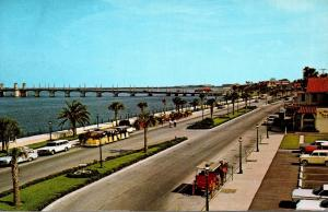 Florida St Augustine Matanzas Bay Front Overlooking Bridge Of Lions