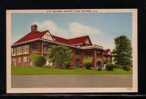 South Carolina colour PC Country Club Columbia, unused