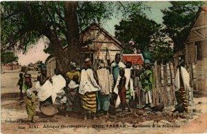 CPA AK Fortier 2141 Dakar- Femmes a la fontaine SENEGAL (812248)