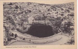 Entrance of Carlsbad Caverns, Carlsbad, New Mexico, 1900-1910s