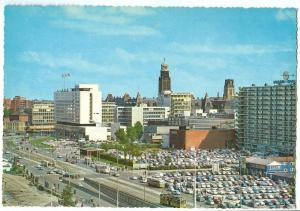 Netherlands, Rotterdam, Weena, 1960s unused Postcard