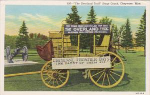 The Overland Trail Stage Coach,  Cheyenne,  Wyoming,  30-40s