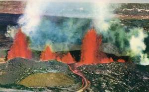 HI - Eruption of Mauna Loa Volcano