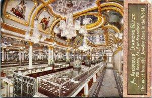 postcard California - San Francisco Andrew's Diamond Palace - PPIE