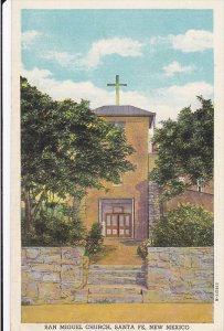 Exterior,  San Miguel Church,  Santa Fe,  New Mexico,  30-40s