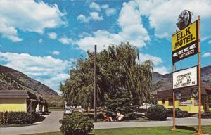 Elk Motel, AAA signs, Keremeos, Hiway 3 West, British Columbia, 1960-70s