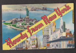 Howdy From New York, New York City - Used