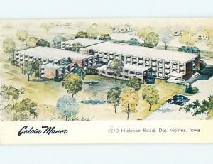 Pre-1980 CALVIN MANOR APARTMENTS Des Moines Iowa IA Q3670