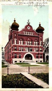 Michigan Lansing Masonic Temple 1906 Detroit Publishing