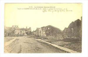 Apres Le Passage Des Barbares, Aspect De Gerbeviller (Meurthe-et-Moselle), Fr...