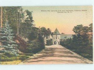 1920's BUILDING SCENE Lake Oscawana - Putnam Valley & Tompkins Corners NY AE9053