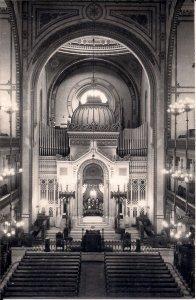 JUDAICA, Dohany Synagogue, Budapest, Hungary, Interior View, Jewish Quarter