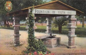 Florida Saint Augustine Fountain Of Youth 1513