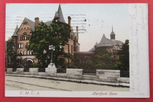 Y.M.C.A., Hartford, CT 1905 Postcard (#4106)