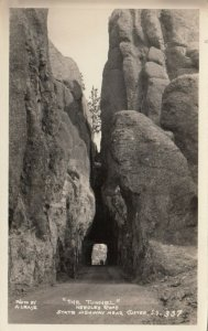 RP: CUSTER, South Dakota , 10-20s; The Tunnel, Needles Road, State Highway
