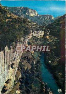 Postcard Modern Walking through the Gorges de la Jonte Lozere