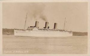 RP; Empress of Britain, Steamship, Ocean Liner, 30-40s