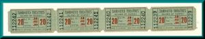 Vintage Tanimoto Movie Theatre Tickets, Kainaliu, Hawaii/HI, Classic Hawaiiana