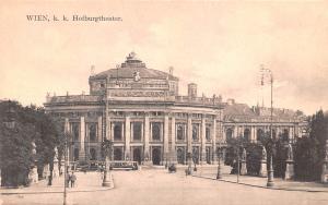 Wien Austria K K Hofburgtheater Wien K K Hofburgtheater
