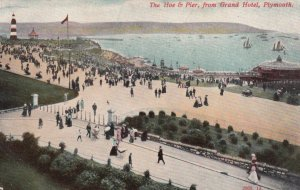 PLYMOUTH , Devon , England , UK , 1909 ; Hoe & Pier