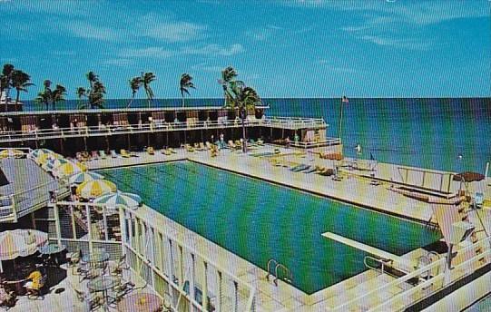 Coral Beach Club Hotel Pool Palm Beach Florida