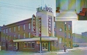 Hotel Val D Or Quebec Canada 1970