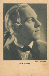 Actor Horst Caspar Postcard