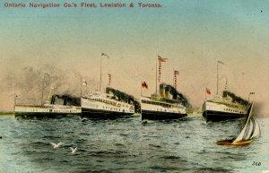 Ontario Navigation Co. - The Fleet