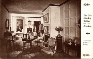 England Chester The Old Stanley Palace The Palace Drawing Room