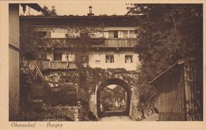 Germany Oberaudorf Burgtor