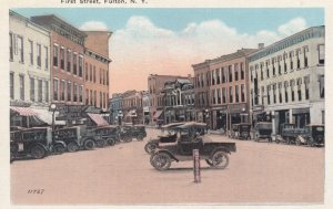 FULTON , New York , 00-10s ; First Street