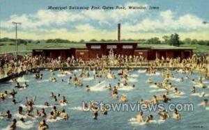 Municipal Swimming Pool Waterloo IA Unused