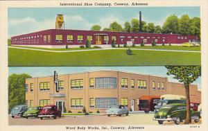Arkansas Conway International Shoe Company & Ward Body Works Curteich