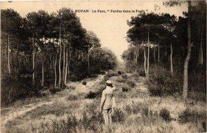 CPA Royan. Le Parc, 'Perdus dans la Forét' (666950)