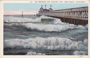 California Long Beach The Breakers And Pleasure Pier