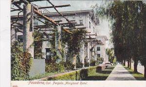 California Pasadena Pregola The Maryland Hotel