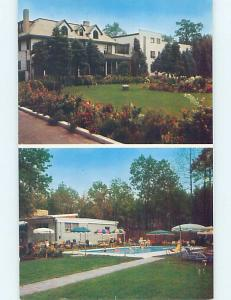 Pre-1980 Motel ENGLEWOOD CLIFFS MILK FARM Englewood Cliffs New Jersey NJ hn4750