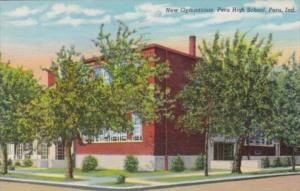Indiana Peru New Gymnasium High School 1944 Curteich