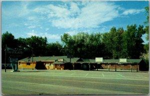 Colorado Springs CO Postcard HICKORY INN MOTEL Highway 24 Roadside c1960s Unused