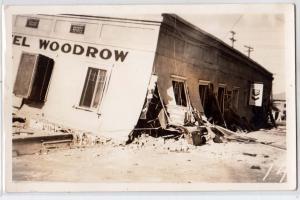 RPPC ? Flood Damage 1921 Pueblo Co. Woodrow