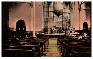 New Jersey Plainfield  First Presbytrian Church Interior