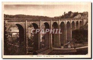 Old Postcard Dinan Viaduct