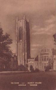 Tennessee Nashville The Tower Scarritt College 1947